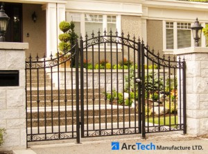 bell-curved-aluminum-entry-gate