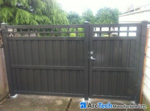 Metal Privacy Gate