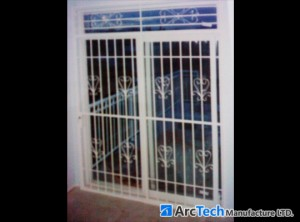 security-double-swingdoor-bars